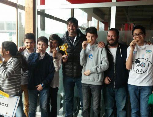 Premio a la mejor presentación en FLL Castilla y León.